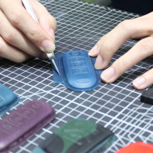 leather-car-key-cover-making